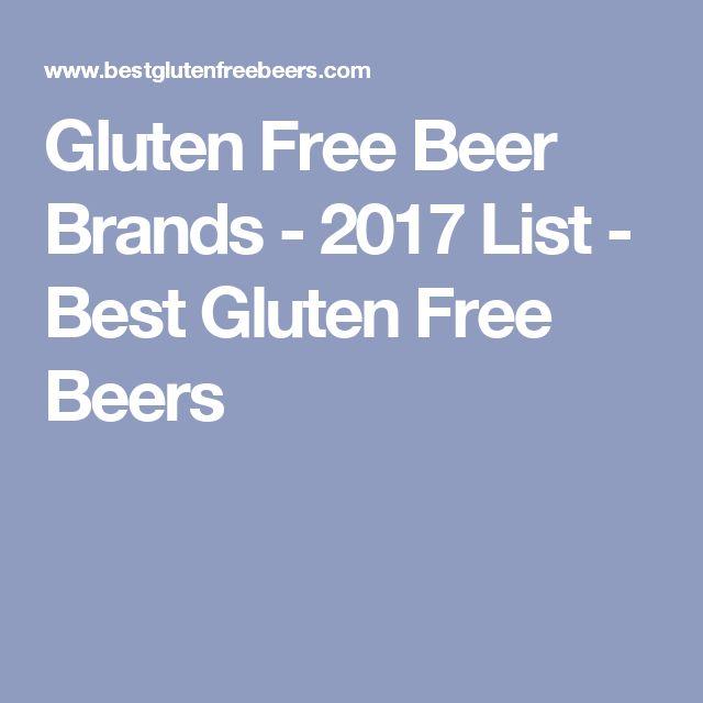 Gluten Free Beer Brands - 2017 List - Best Gluten Free Beers