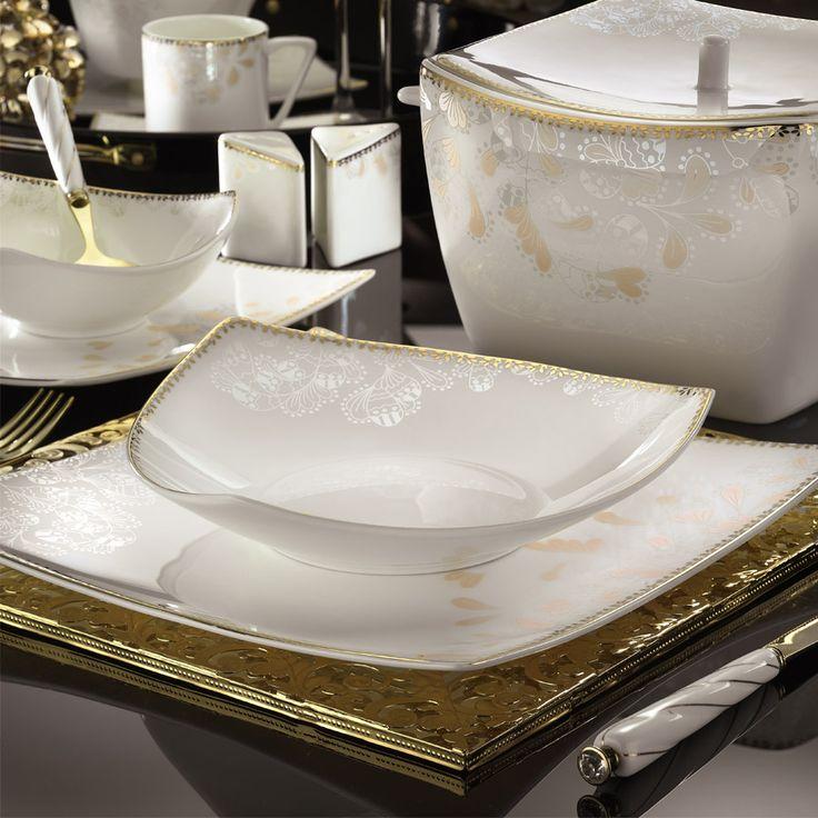 Kütahya Porselen 83 Parça 65124Desenli Yemek Takımı Kütahya Porselen güvencesiyle %100 garantili. Kapıda ödeme seçeneğiyle ve taksit imkanıyla hemen online alın.
