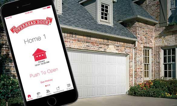 Smart Garage Capability Garage Door Opener App Garage Update Open App