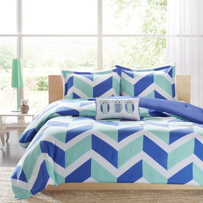 Mi Zone Julie Chevron Comforter Set - JCPenney