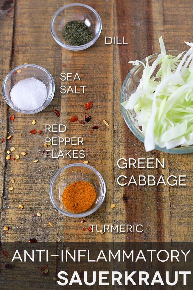 Anti-Inflammatory Sauerkraut