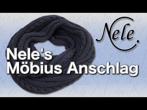 (780) Möbius Loop Schal stricken lernen, Nele's Möbius Anschlag auch für …