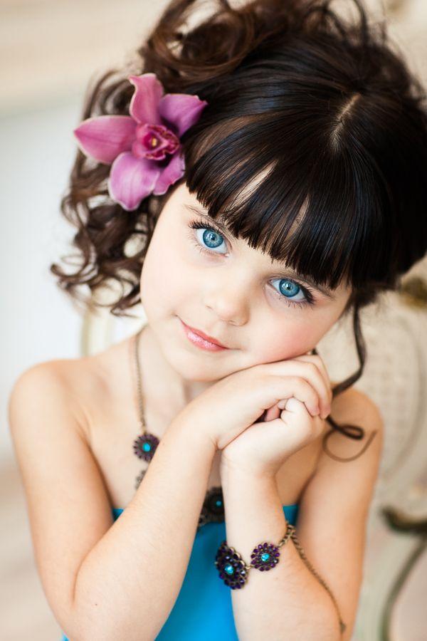 G.Little Girls, Young Children, Beautiful Children, Blue Eye, Children أحبآب, Children Face, Beautiful Kids, Children Photography, Beautiful Eye