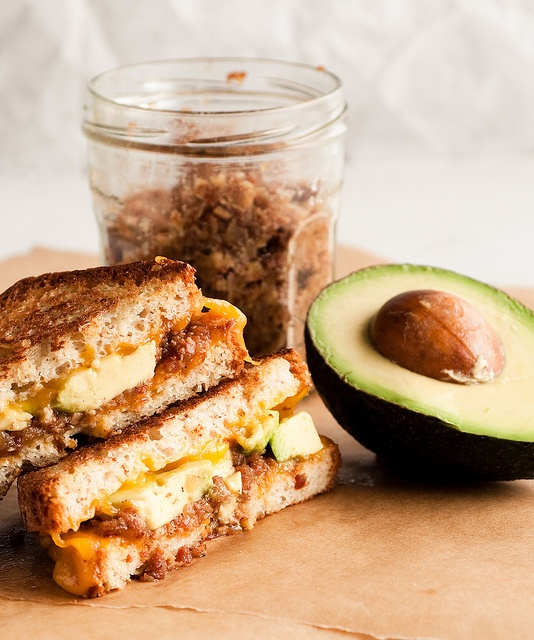 Bacon Jam Breakfast Sandwich With Fried Egg And Avocado Recipe ...