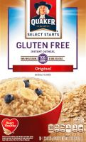 Quaker Gluten Free Instant Oatmeal (packets)