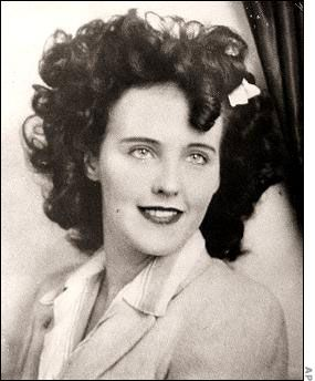 "Elizabeth Short ""Black Dahlia"" Murdered on January 15, 1947"