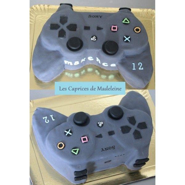 le gteau manette ps3 jeux vido - Manette Ps3 Color