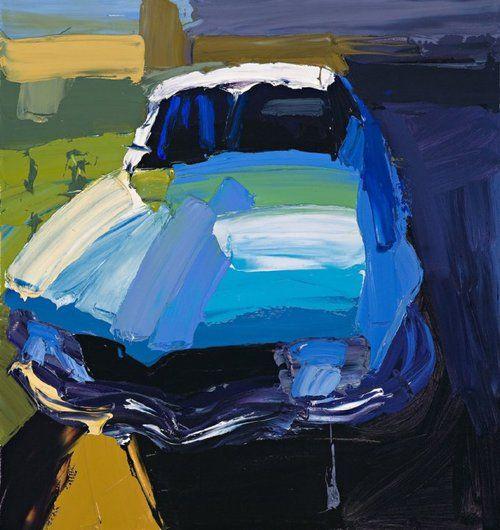 Ben Quilty, Torana, 2004, oil on canvas