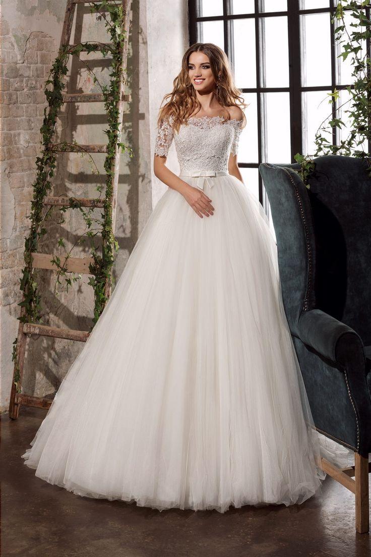 cool Стильные пышные свадебные платья 2017 — Основные тенденции (50 фото)
