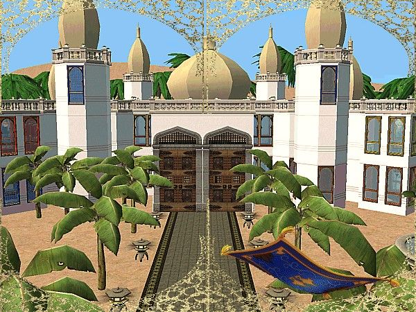 ModTheSims - The palace of the one thousand and one nights