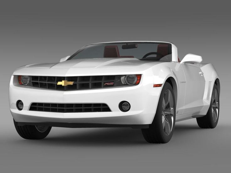 Chevrolet Camaro convertible 2011 3D Model- Let me represent you high poly 3d model of Chevrolet Camaro convertible 2011 (The Chevrolet Camaro is an automobile manufactured by General Motors under the Chevrolet brand, classified as a pony car and some versions also as a muscle car. It went on sale on September 29, 1966, for the 1967 model year and was designed as a competing model to the Ford Mustang. The car shared its platform and major components with the Pontiac Firebird, also introduced…