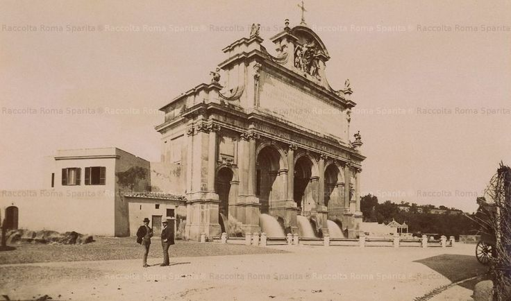 Fontana dell'Acqua Paola (er Fontanone) Anno: 1890 ca