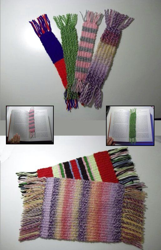 Things to Make and Do - Basic Weaving with a simple homemade loom