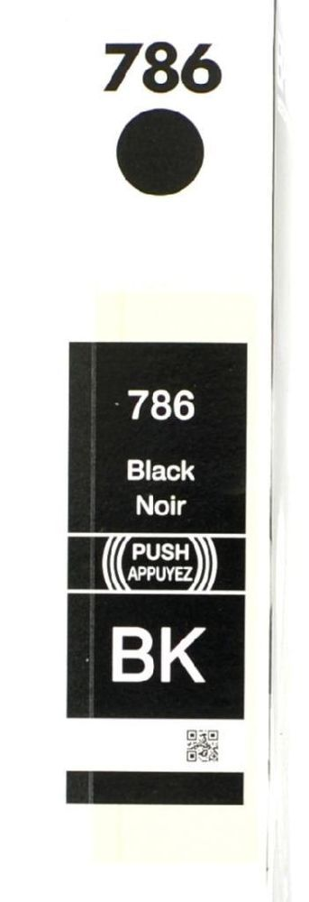 Genuine Epson Ink Cartridge 786 Black Dura Brite Ultra Workforce Pro WP NEW #Epson