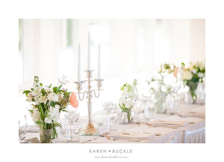 Weddings at Tiffany's - beautiful table details