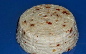 ... il mio formaggio fresco al peperoncino home made ...
