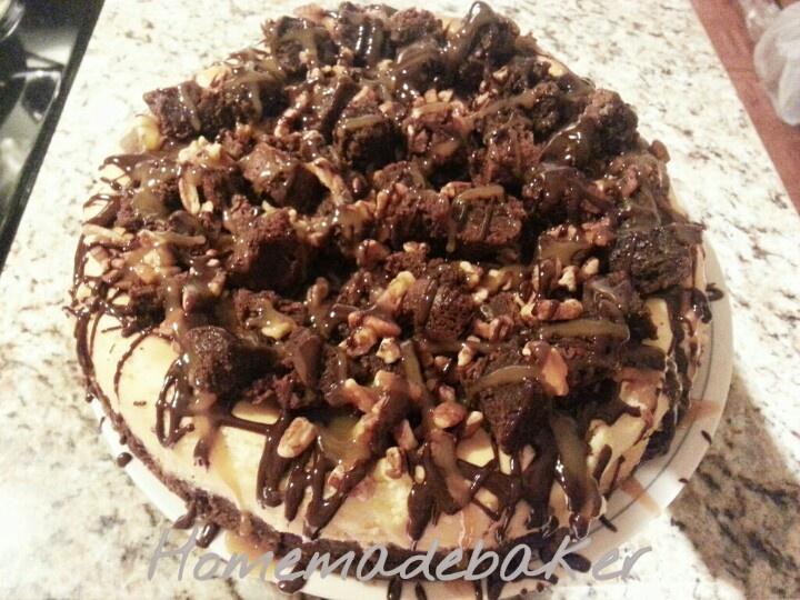 Fully Loaded Cheesecake