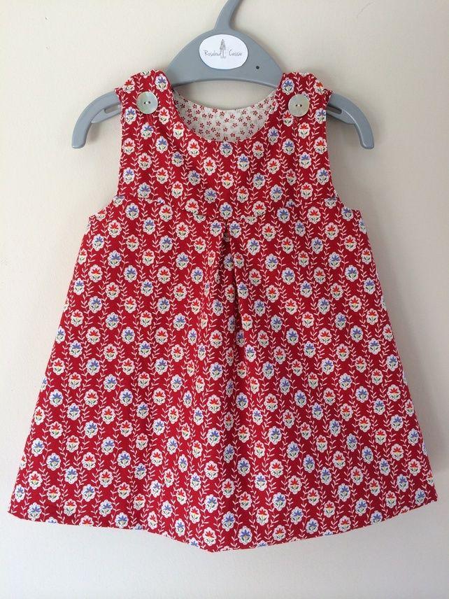 Reversible cotton dress £20.00