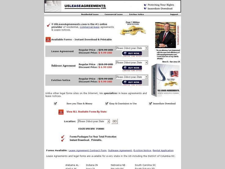 Get Residential, Commercial Lease Agreement And Landlord Notices
