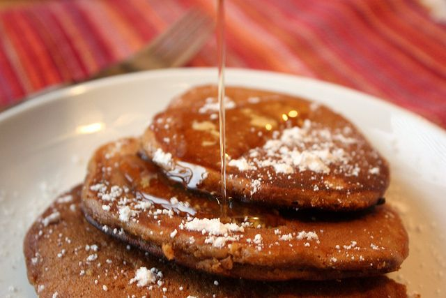 Gingerbread Pancakes | more deliciousness i heart | Pinterest