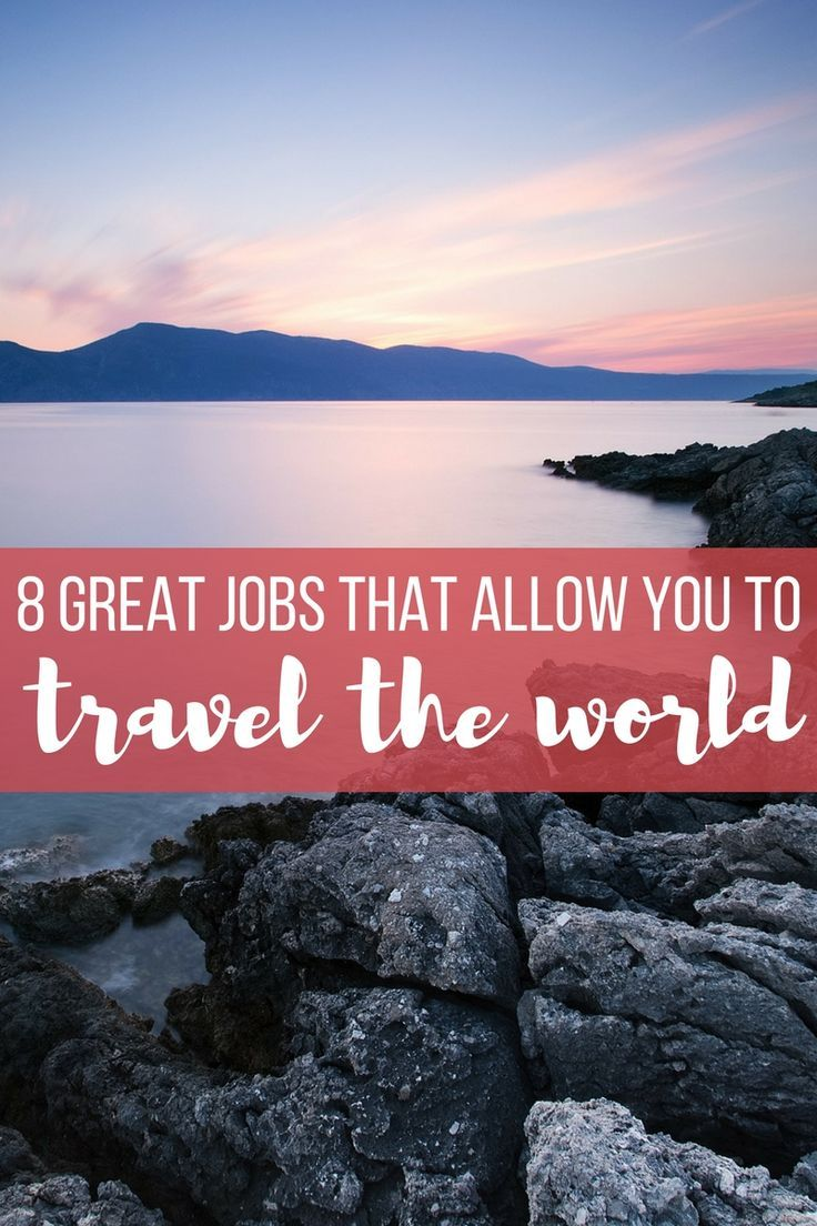 Have you ever dreamed of quitting your 9-5 job and traveling the world? Here are 8 great jobs that allow you to travel and work from anywhere plus how to get them! thinkelysian.com