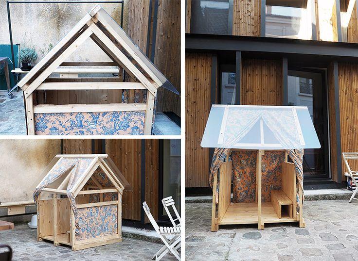 kinderspielhaus selber bauen anleitung video kinder. Black Bedroom Furniture Sets. Home Design Ideas