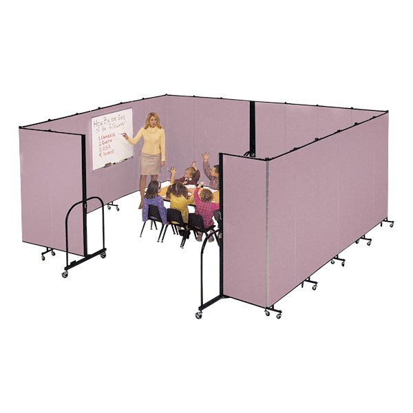 6' H Freestanding Portable Partition - sold separately