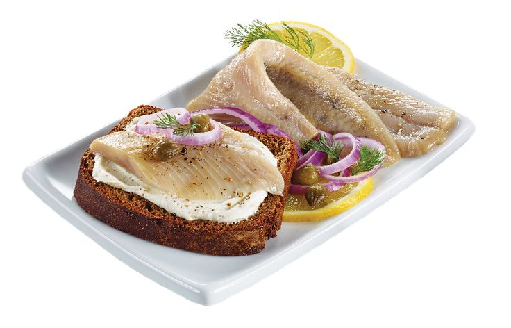 Pickled Herring Fillets with Onions from #YummyMarket #Herring