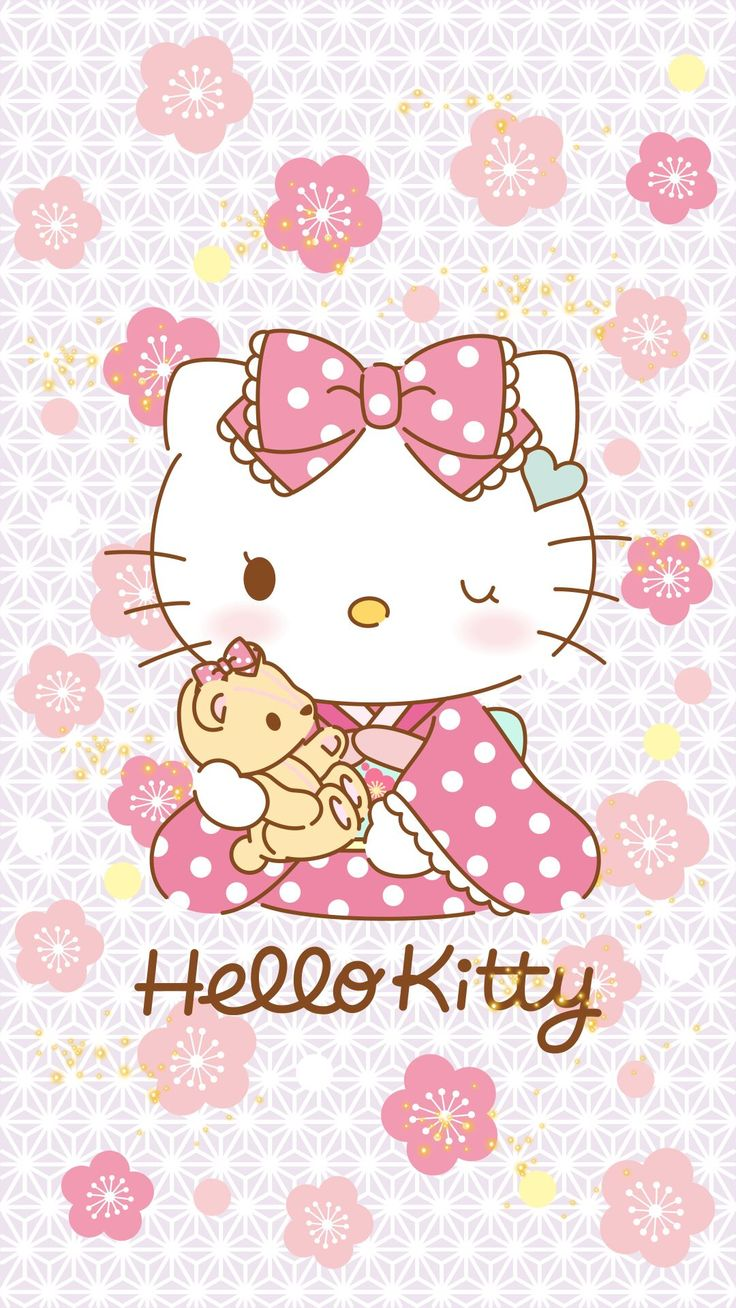 Most Inspiring Wallpaper Hello Kitty Sakura - a1d0db63dd0c8d7edb6d45302f886e28--sanrio-kitty  Image_604444.jpg