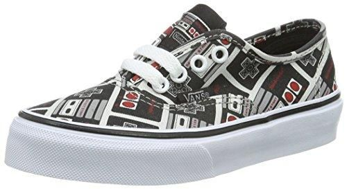 07294b7f8b26a Bandana Fever Nintendo Vans Authentic Shoes Size: 12.5 in 2019 ...