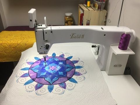 Collection Inédith - Harmony Mandala - Block of the Month - March 2017