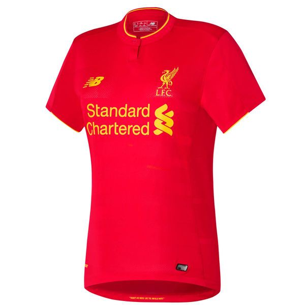 Liverpool FC New Balance Women's 2016 Replica Home Jersey - Red - $79.99