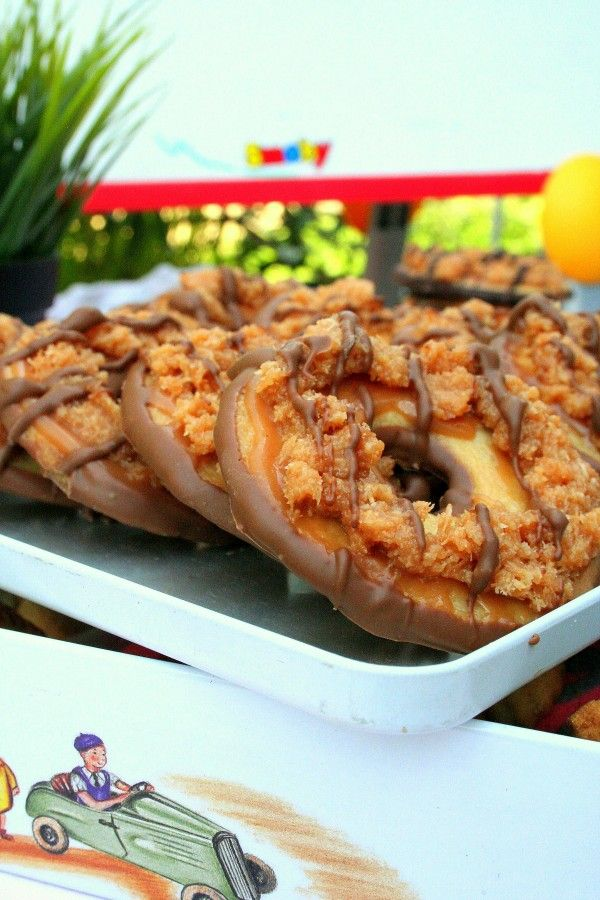 SAMOA COOKIE, le biscuit des girl scouts américaines au caramel et noix de coco.