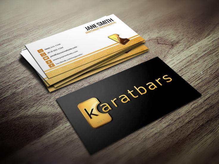Best Karatbars Business Cards Images On   Business