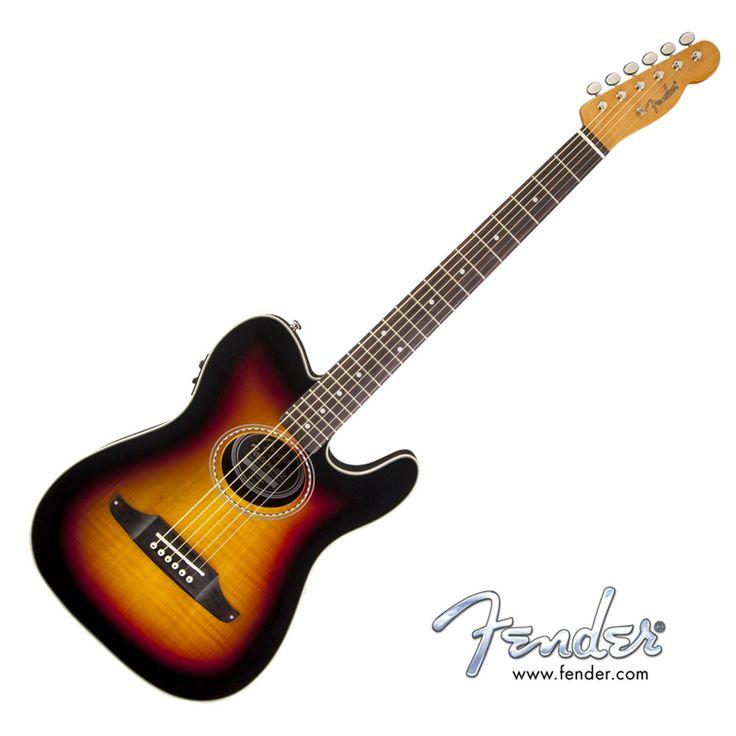Fender Telecoustic Premier - 3 Color Sunburst