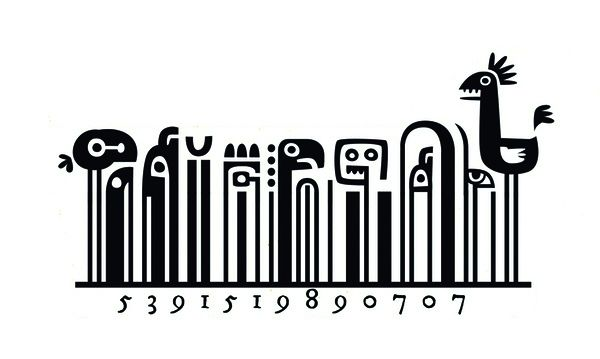 Creative barcode designs by Steve Simpson @ Inspiration hut http://inspirationhut.net/inspiration/creative-barcode-designs-steve-simpson/