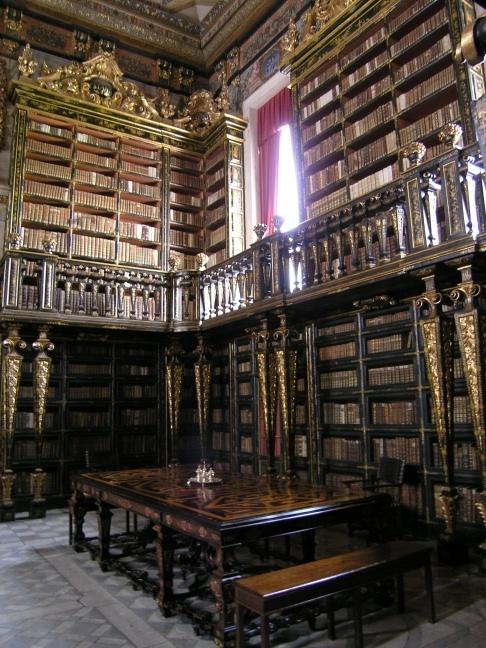 Biblioteca Joanina (1728), Geral University of Coimbra, Coimbra, Portugal
