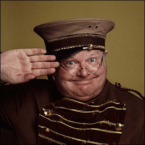 Benny Hill does not have a simian line.