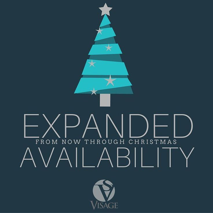 At Salon Visage we have additional staff and extended hours Monday-Saturday to meet your holiday beauty needs.  Appointments are still available but they are filling up fast! At Spa Visage we will also be open tomorrow afternoon (1-6) for gift cards and boutique shopping.  Call us today for more info or to reserve your appointment!  #knoxville #knoxrocks #knoxvillesalon #knoxvillehair #knoxvillenails #knoxvilleboutique #knoxvilleshopping #knoxvillehairstylist #knoxvillespa #spavisage…