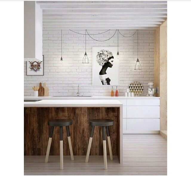Kitchen Island Wood Cladding Kitchen Update Pinterest