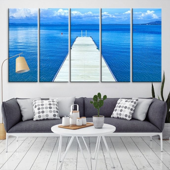 42567 - Sea and Beach Wall Art Large Canvas Print