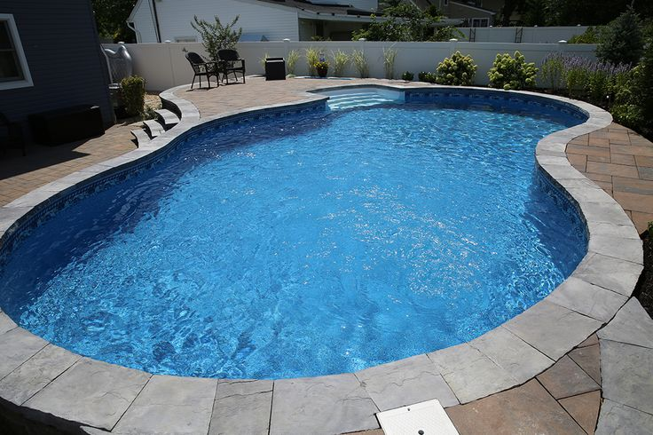 17 best images about radiant pools backyard innovators for Walk in inground pool