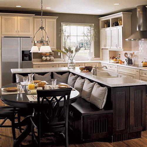 идеи острова с диваном на кухне - Поиск в Google