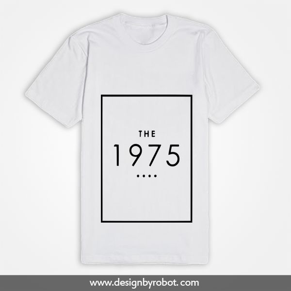 The 1975 White T Shirt