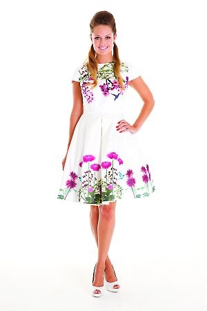 Mackenzie Mode Garden of Eden Dress
