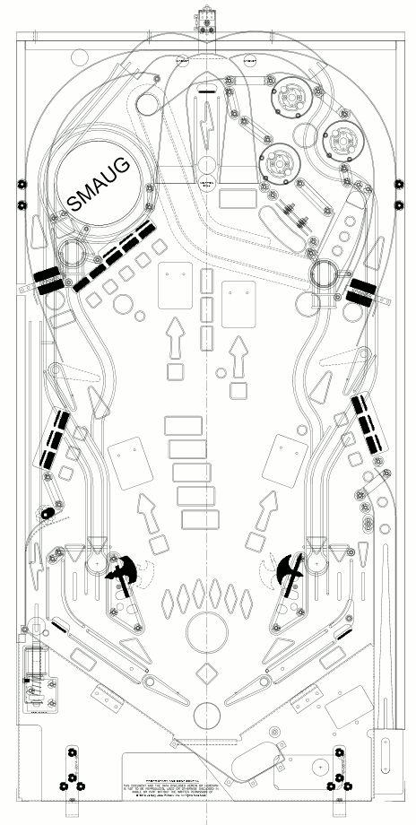 pinball machine layout - Google 搜尋