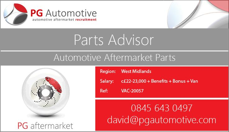 Are you a Parts Advisor worried about your job at the moment? Have you been waiting for your moment to join the automotive industry? It's time... time to start to a new chapter in your career.  http://www.pgautomotive.com/job-vacancy-20057-parts-advisor-internal-sales/ #westmidlands #job #pgautomotive