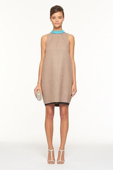 Arlene Dress  In Pebble/Topaz DVF.   So CHIC!! Shop DVF.