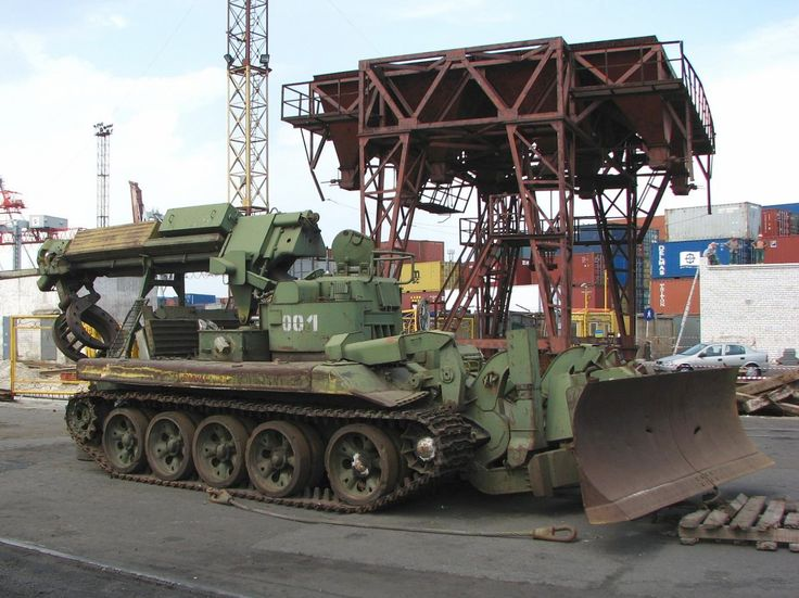 russian tank recovery vehicle - Google Search