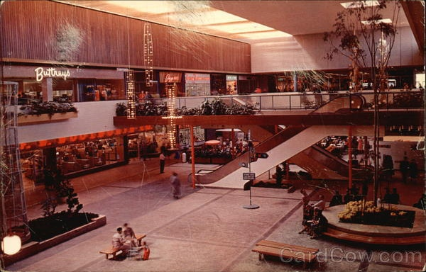 Captain Ed S Furniture Showroom Michigan City In Bay City Michigan Post Card Saginaw River